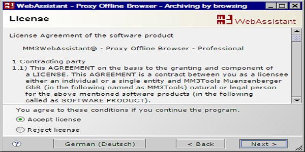WebAssistant Proxy Offline Browser