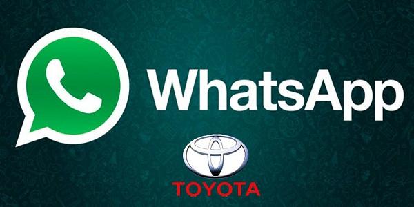 whatsapp toyota