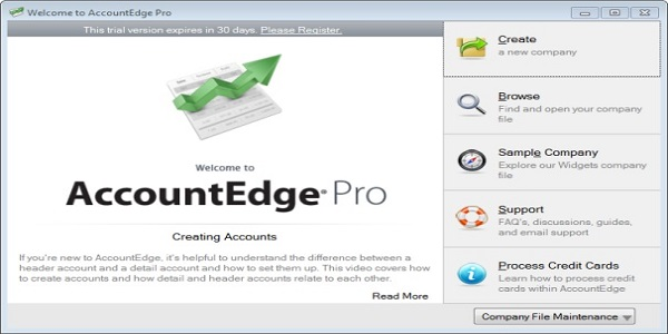 AccountEdge Pro