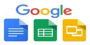 Google docs, sheets and sliders