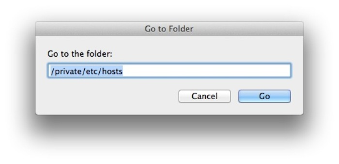 host file