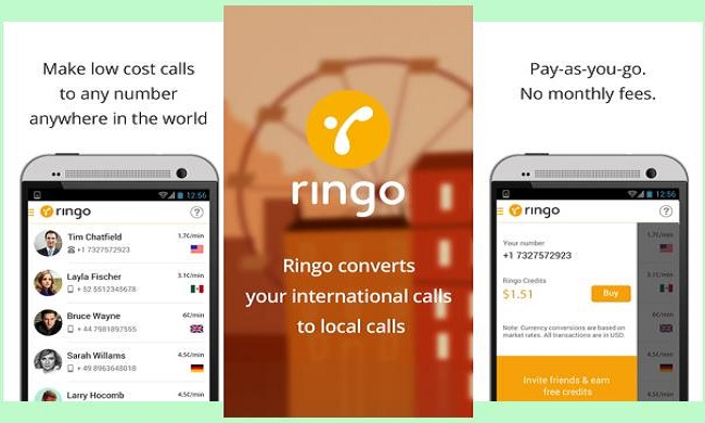 ringo apps