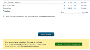 Better Invoice