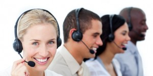 http://www.dreamstime.com/stock-image-businesswoman-her-team-call-center-image13043721