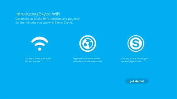 Skype Wi-Fi works