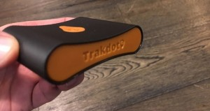 Trakdot's Luggage Tracker