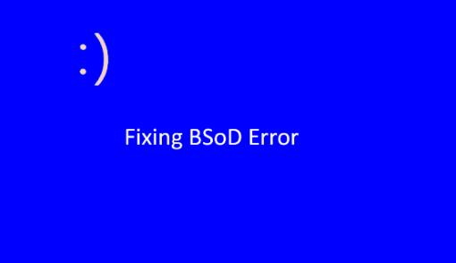 fix BSOD