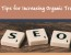 SEO Tips for Increasing Organic Traffic